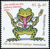 FRG MiNo. 3357-3359 set ** Welfare 2018: The Frog Prince, MNH