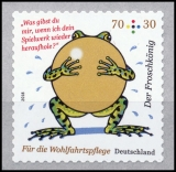 FRG MiNo. 3364 ** Welfare 2018: The Frog Prince, MNH, self-adhesive