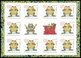 FRG MiNo. MH 108 (3364) ** Frog Prince, stamp set, self-adhesive, MNH
