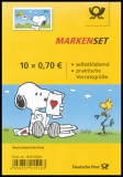 FRG MiNo. FB 73 (3371) ** Post für Snoopy, foil sheet, self-adhesive, MNH