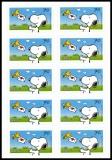 BRD MiNr. FB 73 (3371) ** Post für Snoopy, Folienblatt, selbstklebend, postfr.