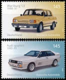 FRG MiNo. 3367-3368 set ** Classic German automobiles, MNH
