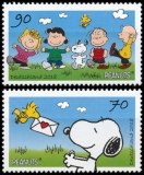 FRG MiNo. 3369-3370 set ** Peanuts Snoopy & rattle gang, MNH