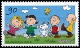 FRG MiNo. 3369-3370 set ** Peanuts Snoopy & rattle gang, MNH