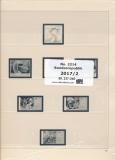 SAFE 221417/2 dual Nachtrag Bundesrepublik Deutschland 2. Teil 2017 Bl. 237-240