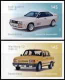 FRG MiNo. 3378-3379 Set ** Classic automobiles, self-adhesive, MNH