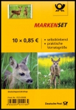 FRG MiNo. FB 75 (3377) ** Animal children: deer, foil sheet, self-adhesive, MNH