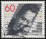 FRG MiNo. 1247 o 100th birthday of Egon Erwin Kisch, postmarked