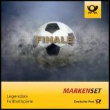 BRD MiNr. MH 109 (3380-3382) ** Legendäre Fußballspiele, Marken-Set, postfrisch
