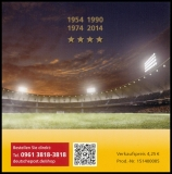 FRG MiNo. MH 109 (3380-3382) ** Legendary football matches, stamp set, MNH