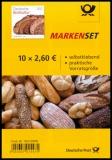 FRG MiNo. MH 110 (3390) ** German bread culture, stamp set, self-adhesive, MNH