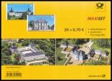 FRG MiNo. FB 77 (3388-3389) ** Falkenlust & Friedenstein, foil sheet, MNH