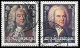 FRG MiNo. 1248 o Europe: European Year of Music - G. F. Handel, postmarked