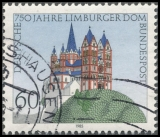 FRG MiNo. 1250 o 750 years Limburger Dom, postmarked
