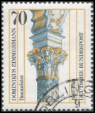 FRG MiNo. 1251 o 300th anniversary of Dominic Zimmermann, postmarked