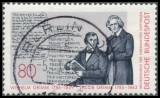FRG MiNo. 1236 o 200th anniversary of the Brothers Grimm, postmarked