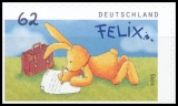 FRG MiNo. 3142 ** Felix the Rabbit: Post from Felix, MNH, self-adhesive