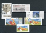 FRG MiNo. 3137-3142 ** New issues March 2015, MNH, incl. self-adhesives