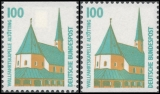 FRG MiNo. 1406C-1406D set ** Objects worth seeing (I), C+D values, MNH