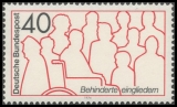 FRG MiNo. 796 ** Rehabilitation of the Disabled, MNH