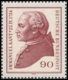 FRG MiNo. 806 ** 250th anniversary of Immanuel Kant, MNH