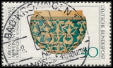 FRG MiNo. 898 O Archaeological Treasures (I): Gold-ornamented Bowl, postmarked