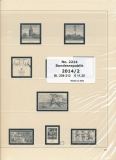 SAFE 221414/II dual Supplement Federal Republic of Germany part 2 of 2014 page 209-212