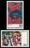 FRG MiNo. 816-817 set ** German Expressionism (II), MNH
