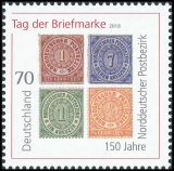 FRG MiNo. 3412 ** Stamp Day 2018: 150 years North German postal district, MNH