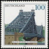 FRG MiNo. 2109 ** Bridges (IV): Elbe Bridge - Blue Wonder, MNH