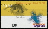 FRG MiNo. 2089 ** World Exhibition EXPO 2000, Hannover, MNH