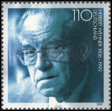 FRG MiNo. 2092 ** 10th anniversary of the death of Herbert Wehner, MNH