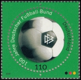 FRG MiNo. 2091 ** 100 years German Football Association (DFB), MNH