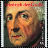 FRG MiNo. 2906 ** 300th anniversary of Frederick the Great, MNH