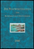Yearbook 2000 Postage stamps of the Federal Republic of Germany without stamps