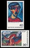 FRG MiNo. 798-799 set ** German Expressionism (I), MNH