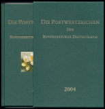 Yearbook 2004 Postage stamps of the Federal Republic of Germany without stamps