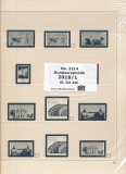 SAFE 221418/1 dual Nachtrag Bundesrepublik Deutschland 1. Teil 2018 Bl. 241-245