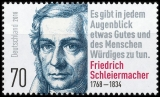 FRG MiNo. 3419 ** 250th birthday Friedrich Schleiermacher, MNH