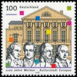 FRG MiNo. 2028 ** 1100 years Weimar - European Capital of Culture 1999, MNH