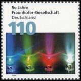 FRG MiNo. 2038 ** 50 years Fraunhofer-Gesellschaft, MNH