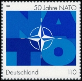 FRG MiNo. 2039 ** 50 years North Atlantic Treaty Organization (NATO), MNH