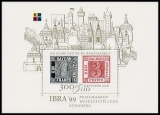 FRG MiNo. Block 46 (2041) ** Internat. Stamp Exhibition IBRA 99, sheetlet, MNH