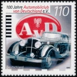 FRG MiNo. 2043 ** 100 years Automobile Club of Germany (AvD), MNH
