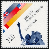 FRG MiNo. 2048 ** 50th anniversary of the end of the blockade of Berlin, MNH