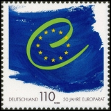 FRG MiNo. 2049 ** 50 years Council of Europe, MNH