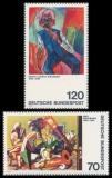 FRG MiNo. 822-823 Satz ** German Expressionism (III), MNH