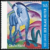 FRG MiNo. 2911 ** 100th anniversary of the artist group The blue rider, MNH