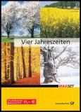 BRD MiNr. MH  65 (2574-2577) ** Post: Die 4 Jahreszeiten, Marken-Set, -heft, Sk