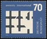 FRG MiNo. 814 ** Organization Amnesty International, MNH